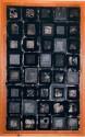 <b>Ventanas - 50x100 cm - 1996</b><br>Técnica: grabado al carborundum a 2 tintas y collage sobre papel<br>Edición: pieza única