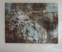 <b>Rosa enamorada - 40x34 - 2004</b><br>Técnica: serigrafia sobre cristal y fotografia<br>Edición: pieza única