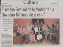 <b>Palma festival - 2006</b><br>Lourdes Duran para Diario de Mallorca del 2 de junio de 2006