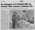 <b>Palma Fundacio Miró - 1994</b><br>Diario 16 del 4 de marzo de 1994